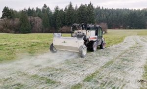 Liming Fields in Washington and Oregon